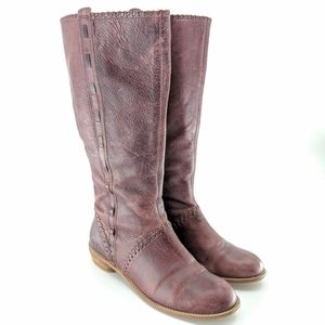 Anthropologie Lucky Penny 'Berry Stitched' Boots